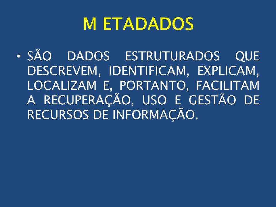 M ETADADOS