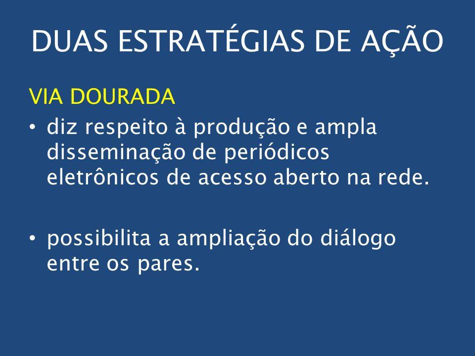 DUAS ESTRATÉGIAS DE AÇÃO