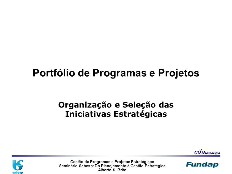 Portfólio de Programas e Projetos