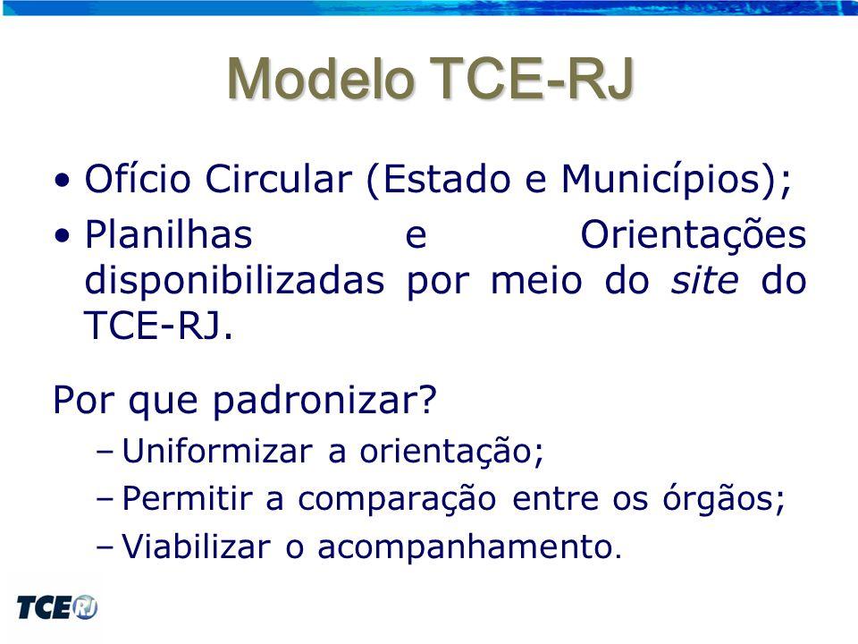 Modelo TCE-RJ Ofício Circular (Estado e Municípios);