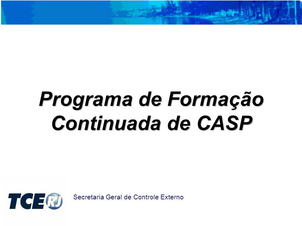 Programa de Formação Continuada de CASP