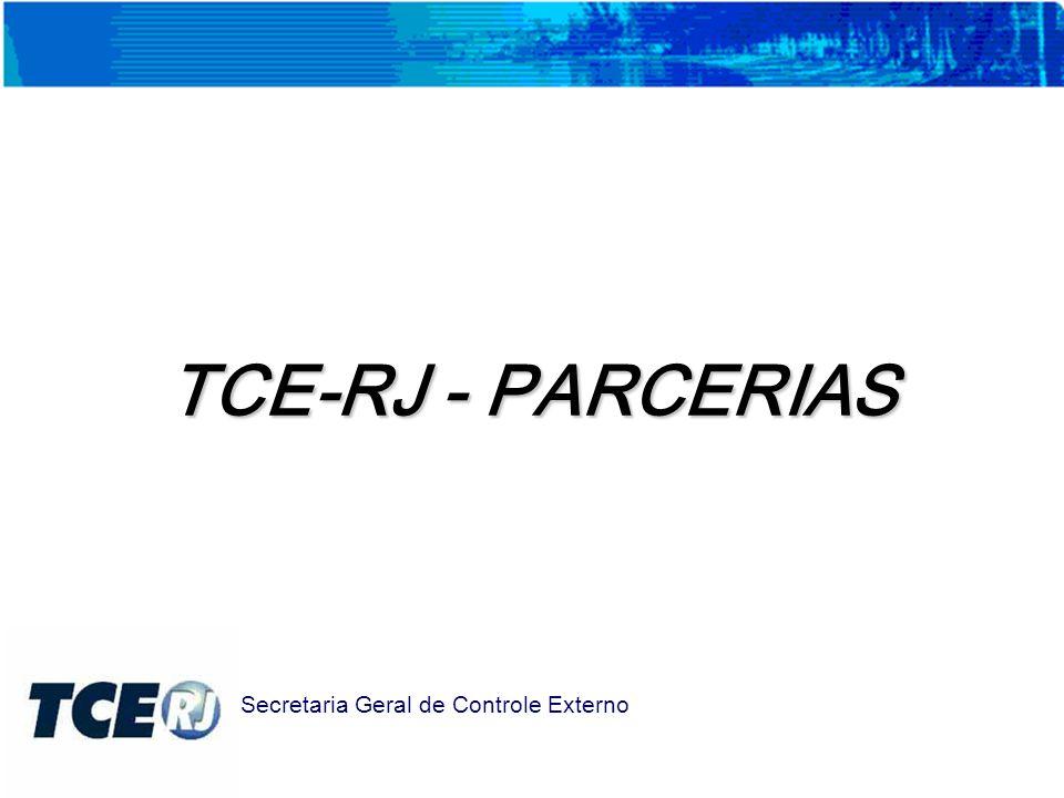 TCE-RJ - PARCERIAS Secretaria Geral de Controle Externo