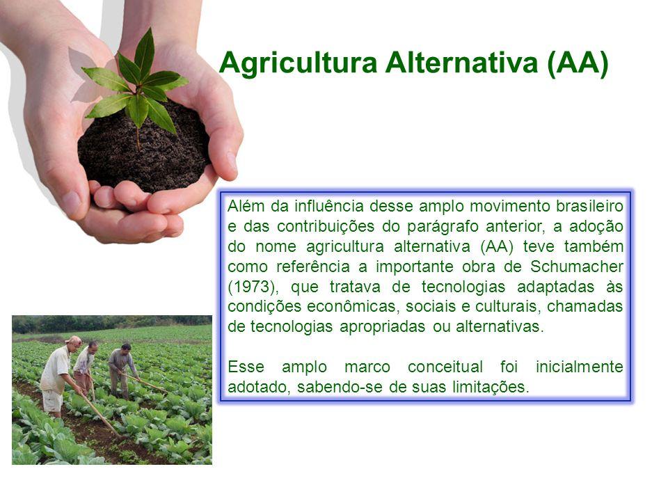 Agricultura Alternativa (AA)