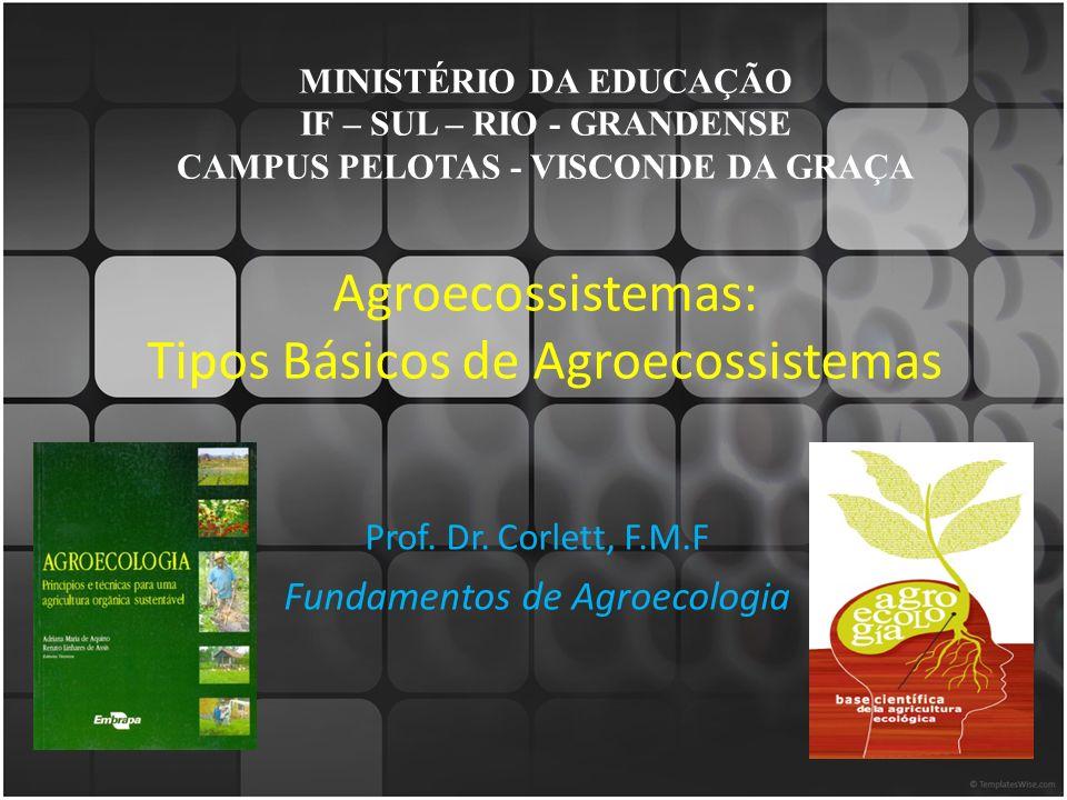 Agroecossistemas: Tipos Básicos de Agroecossistemas
