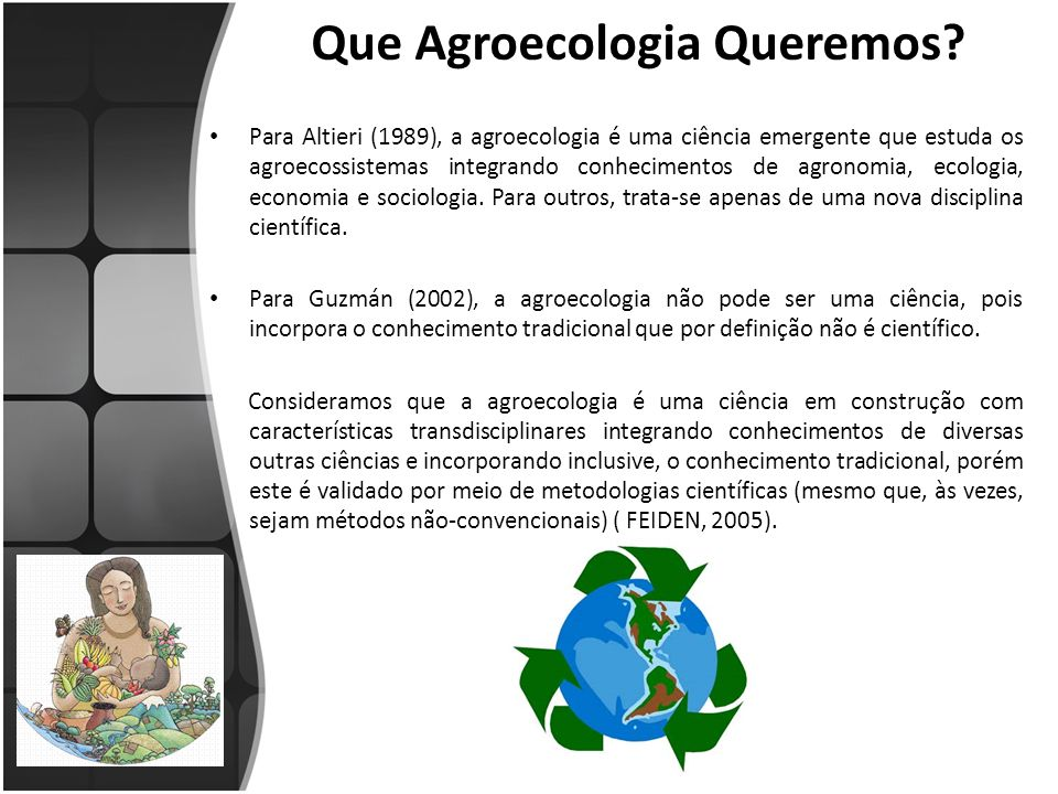 Que Agroecologia Queremos