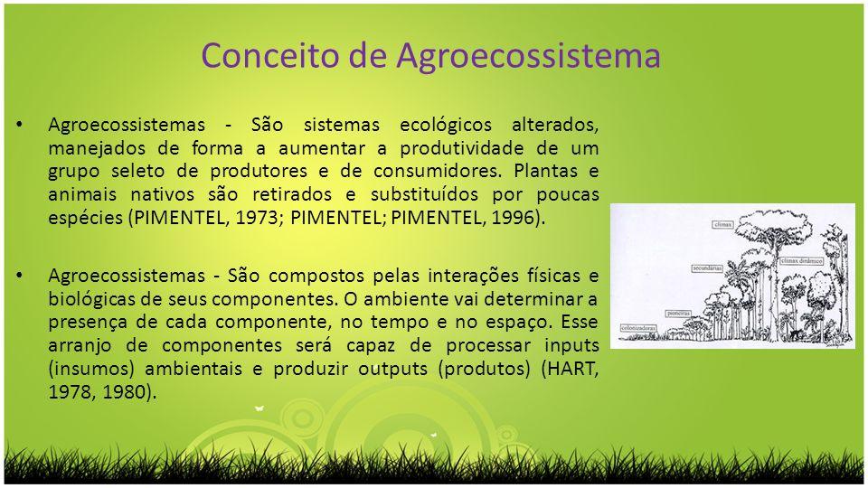 Conceito de Agroecossistema