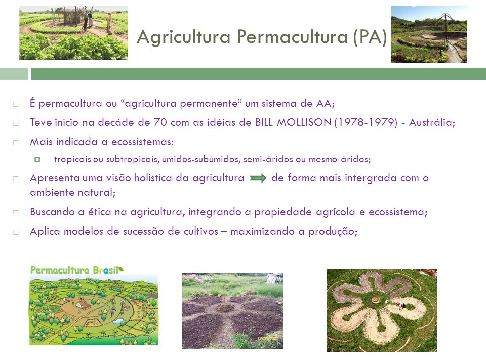 Agricultura Permacultura (PA)