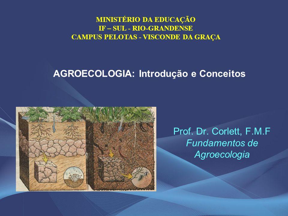 Prof. Dr. Corlett, F.M.F Fundamentos de Agroecologia
