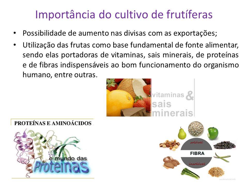 Importância do cultivo de frutíferas