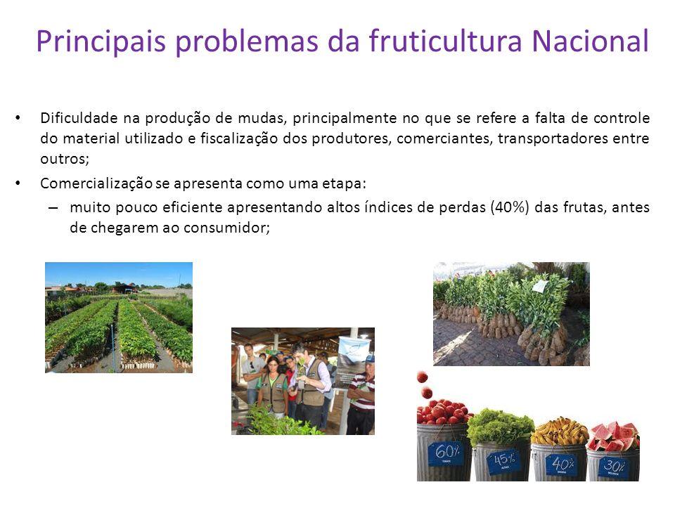 Principais problemas da fruticultura Nacional