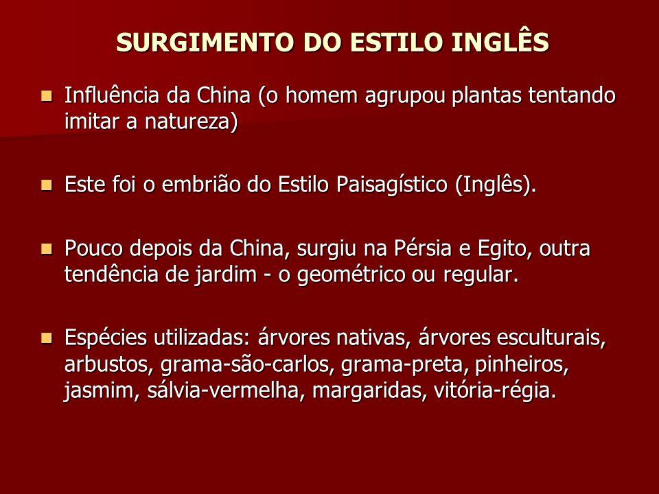 SURGIMENTO DO ESTILO INGLÊS