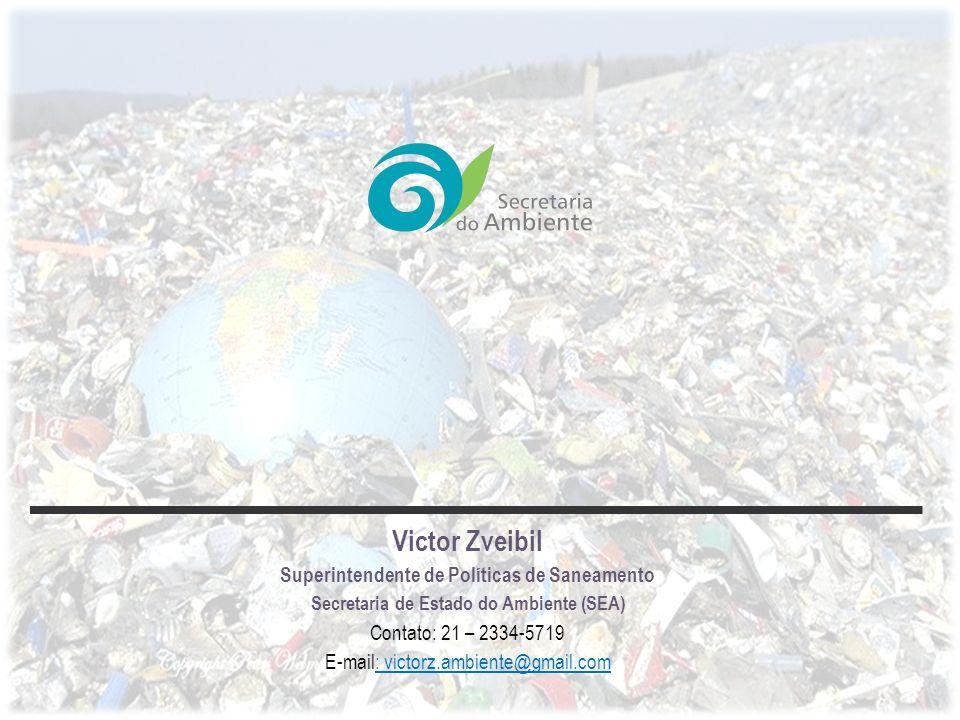 Victor Zveibil Superintendente de Políticas de Saneamento