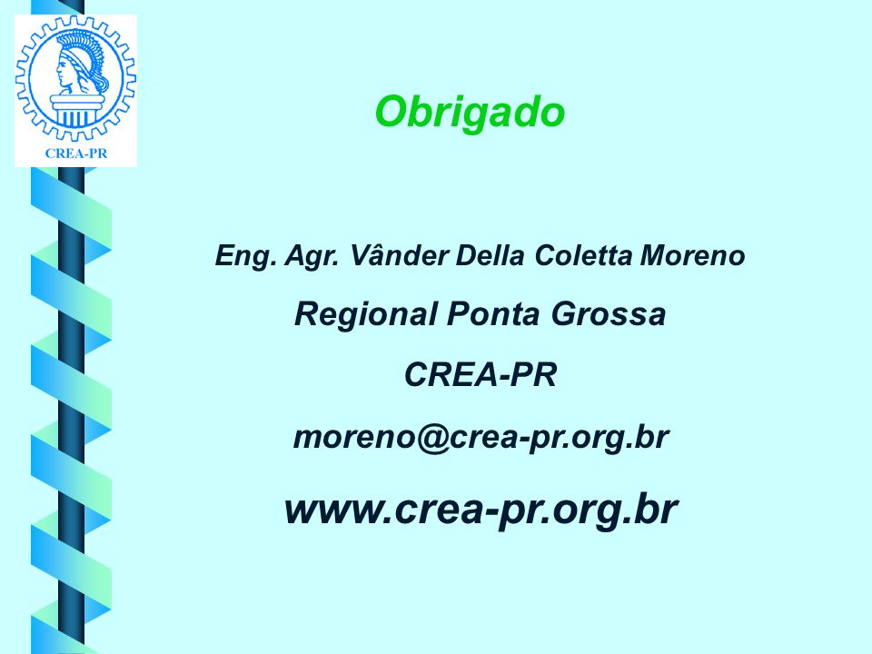 Eng. Agr. Vânder Della Coletta Moreno