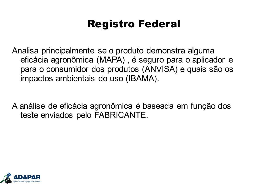 Registro Federal