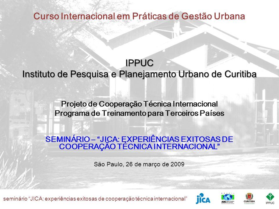 IPPUC Instituto de Pesquisa e Planejamento Urbano de Curitiba