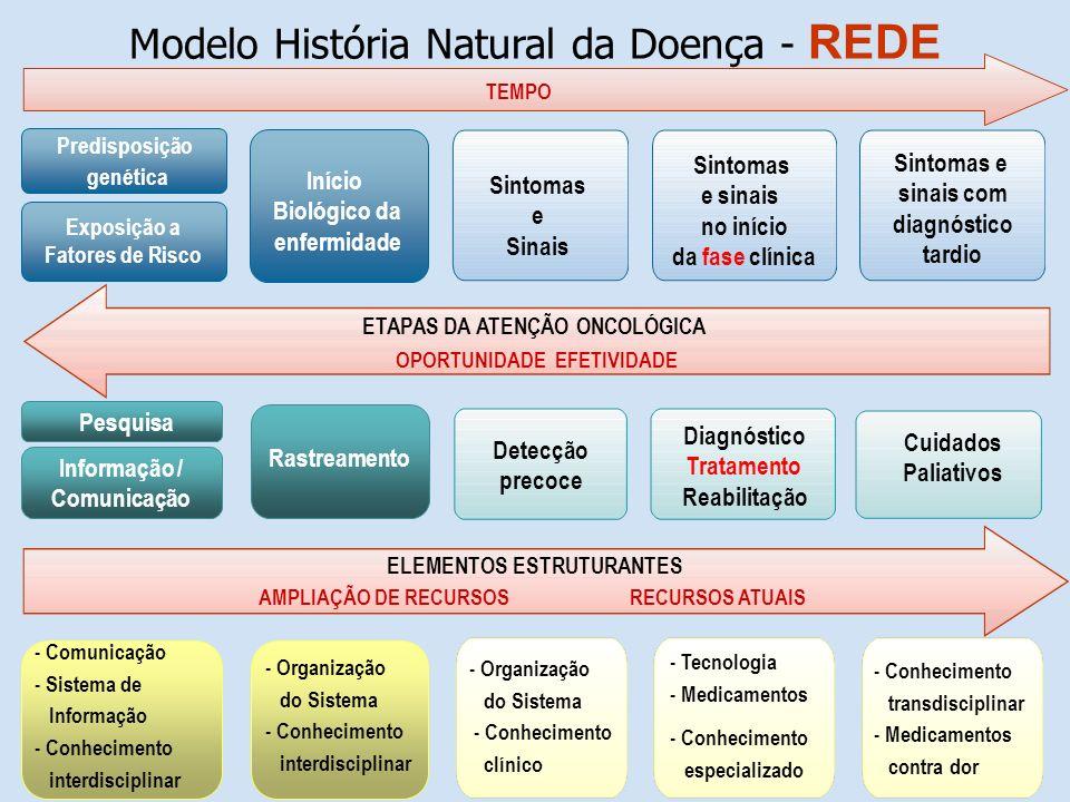 Modelo História Natural da Doença - REDE