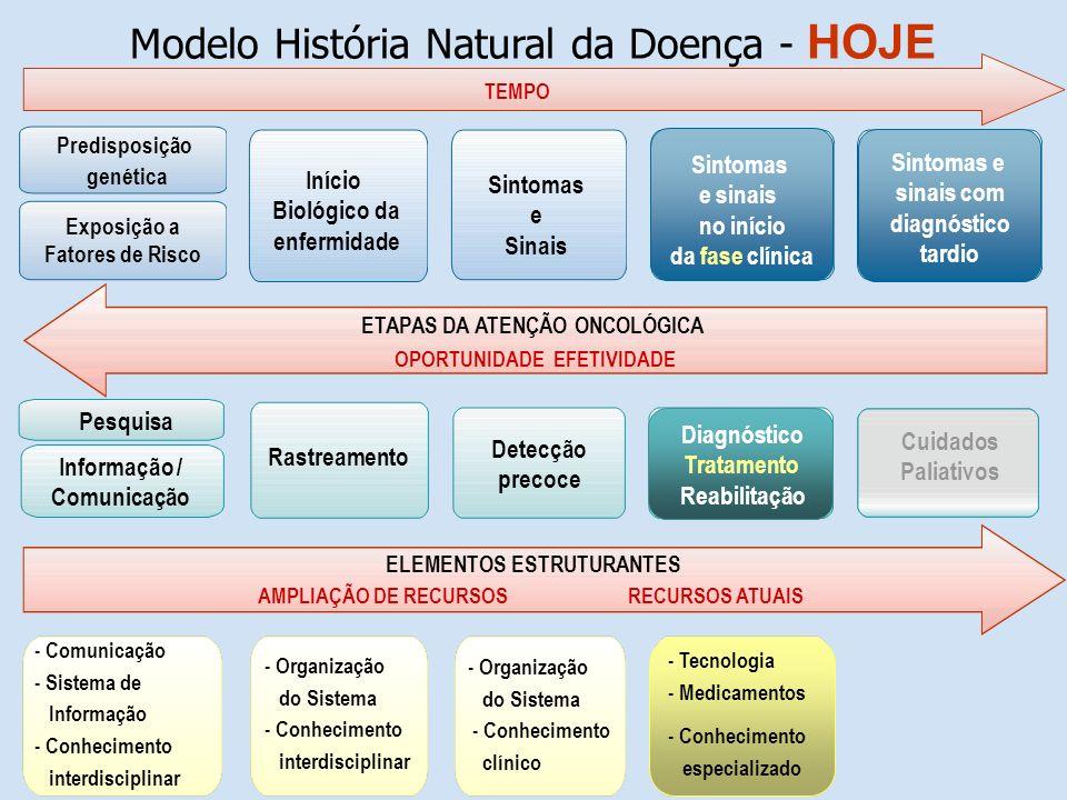 Modelo História Natural da Doença - HOJE