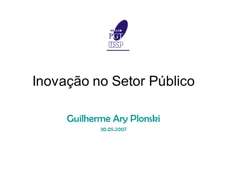 Inovação no Setor Público