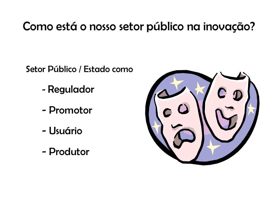 Como está o nosso setor público na inovação