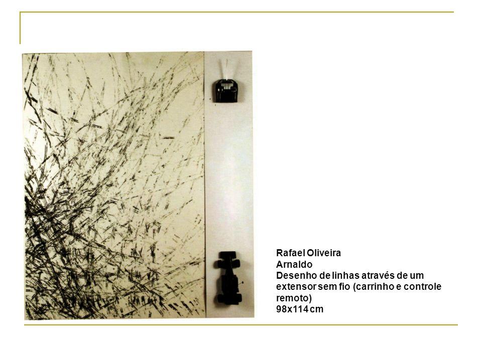 Rafael Oliveira Arnaldo. Desenho de linhas através de um extensor sem fio (carrinho e controle remoto)