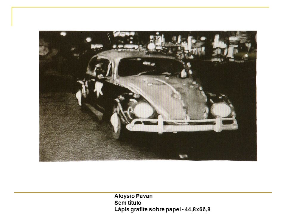 Aloysio Pavan Sem título Lápis grafite sobre papel - 44,8x66,8