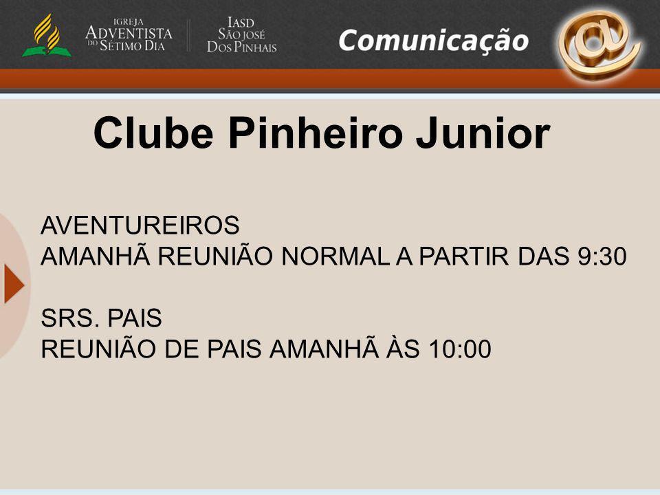 Clube Pinheiro Junior AVENTUREIROS