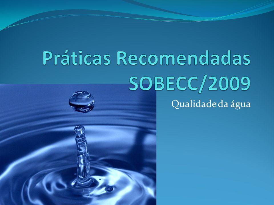 Práticas Recomendadas SOBECC/2009
