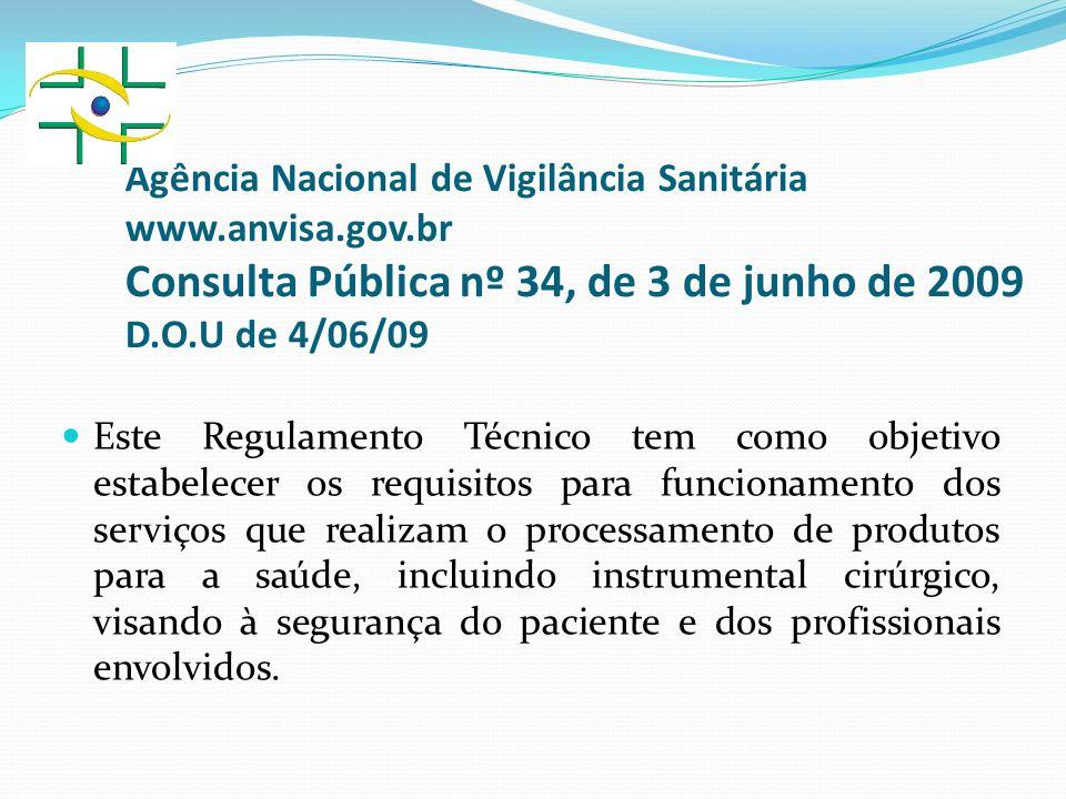 Agência Nacional de Vigilância Sanitária www. anvisa. gov