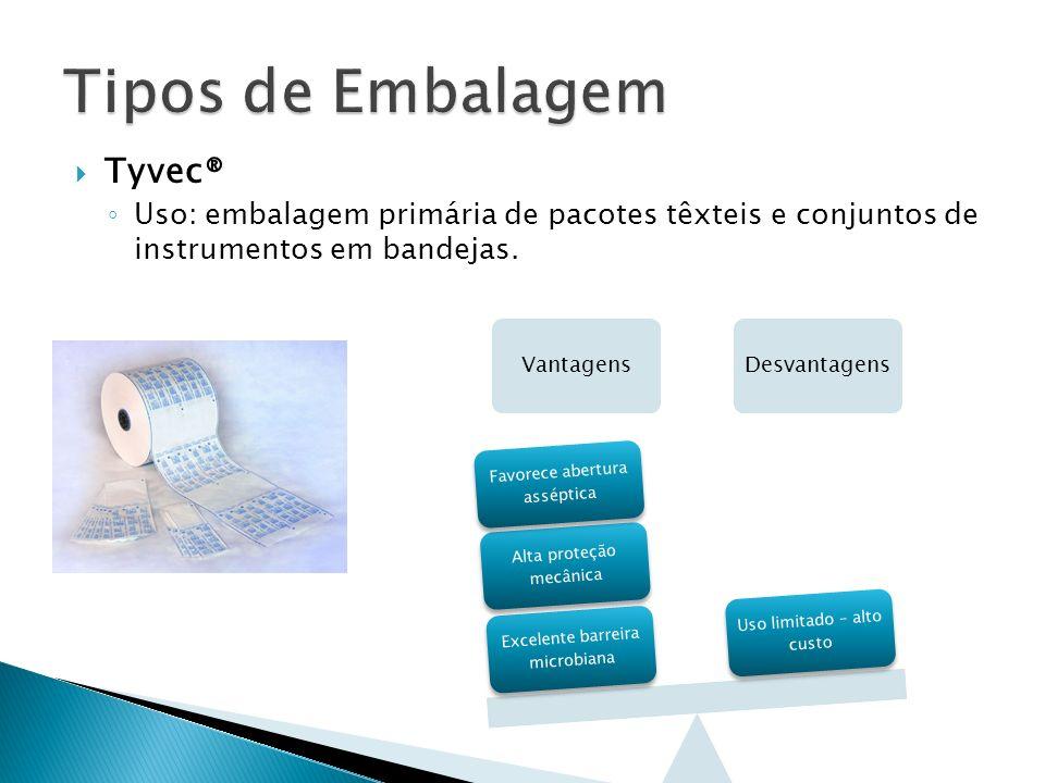 Tipos de Embalagem Tyvec®