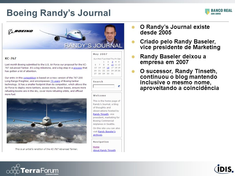 Boeing Randy's Journal