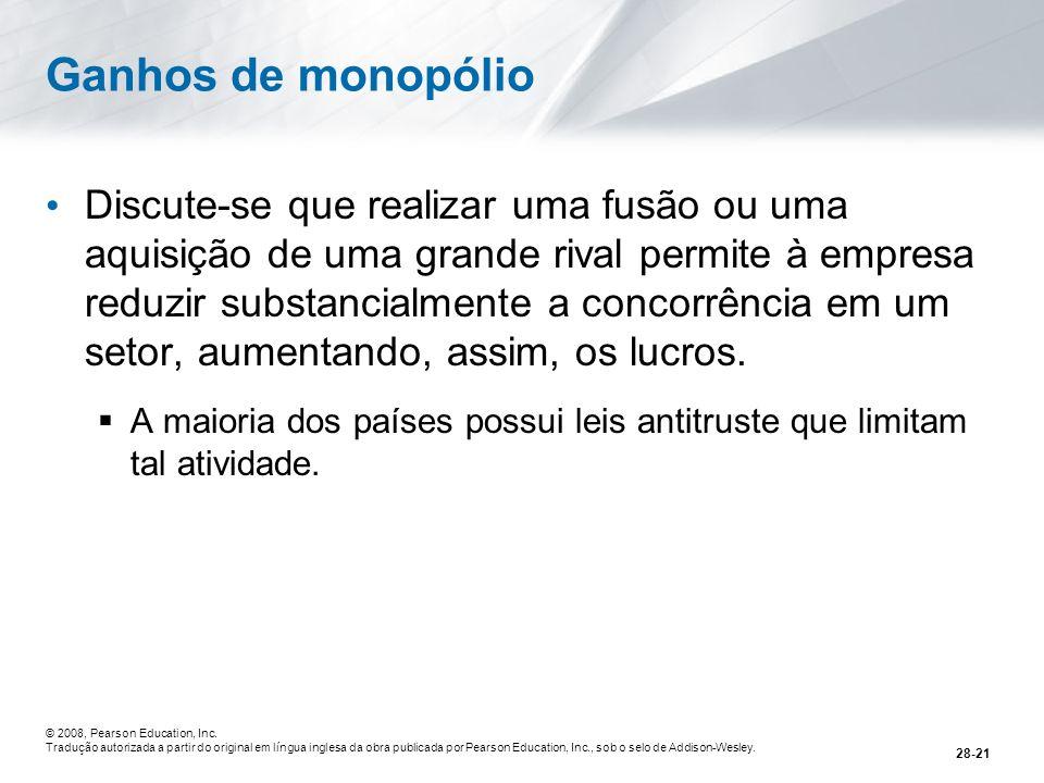 Ganhos de monopólio