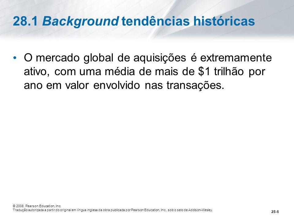 28.1 Background tendências históricas
