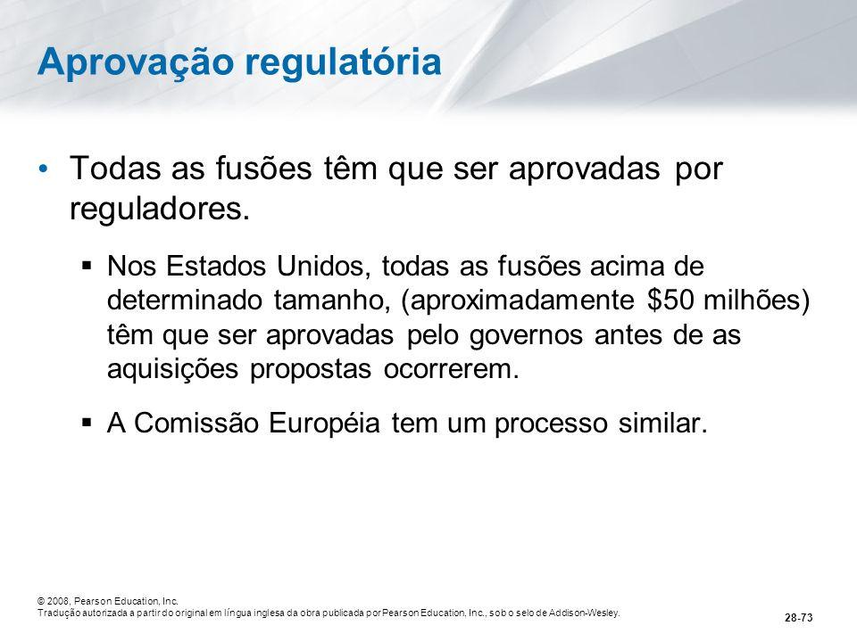 Aprovação regulatória