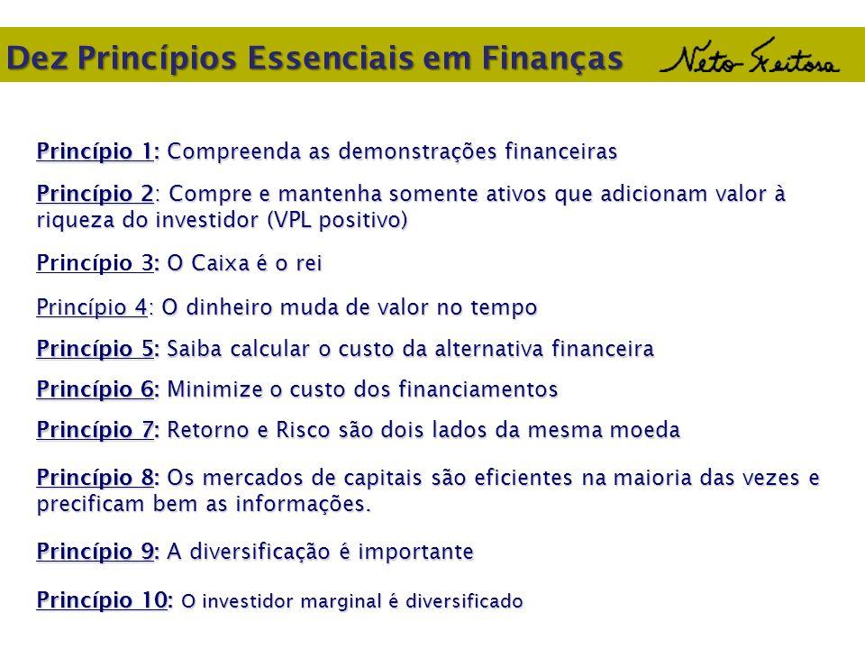 Dez Princípios Essenciais em Finanças