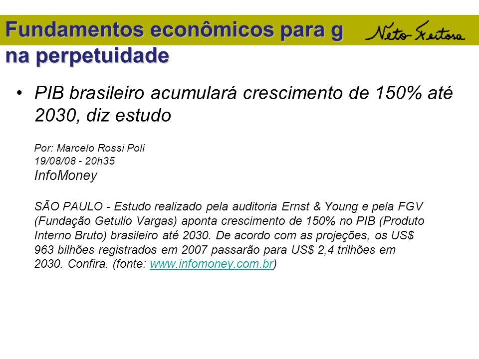 Fundamentos econômicos para g na perpetuidade