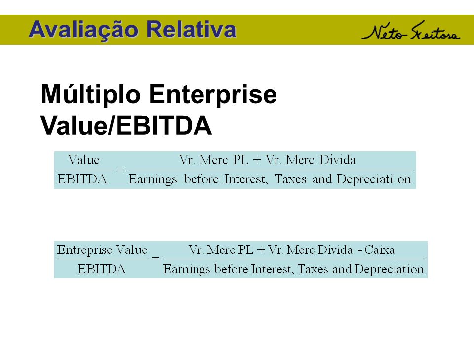 Múltiplo Enterprise Value/EBITDA