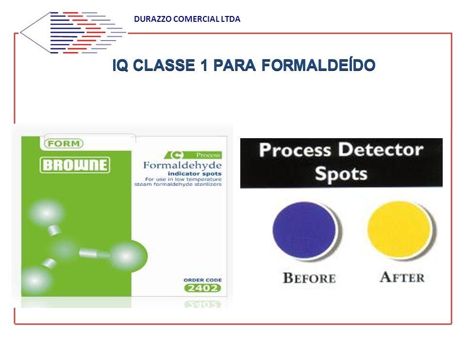 IQ CLASSE 1 PARA FORMALDEÍDO