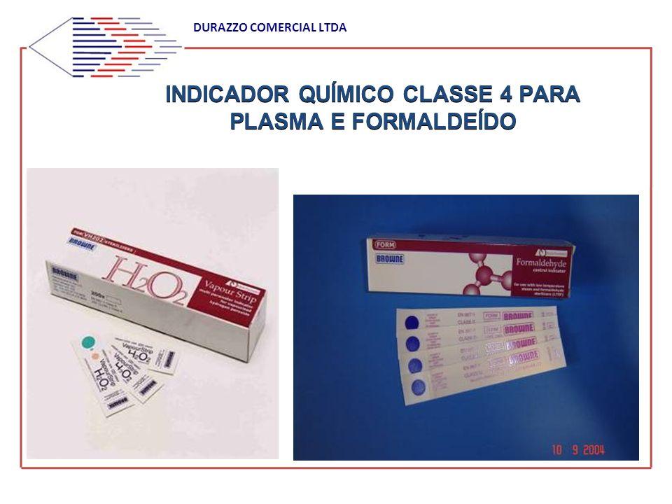 INDICADOR QUÍMICO CLASSE 4 PARA PLASMA E FORMALDEÍDO