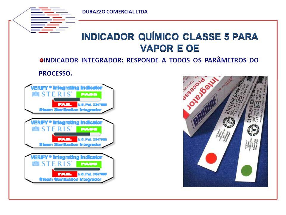 INDICADOR QUÍMICO CLASSE 5 PARA VAPOR E OE
