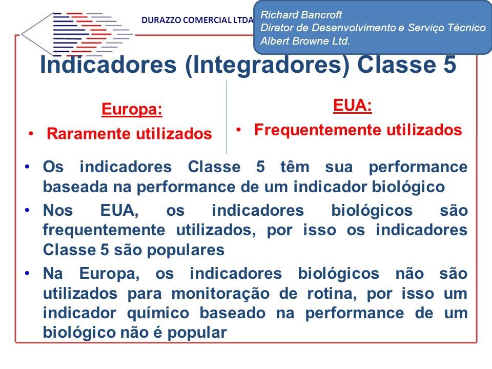 Indicadores (Integradores) Classe 5