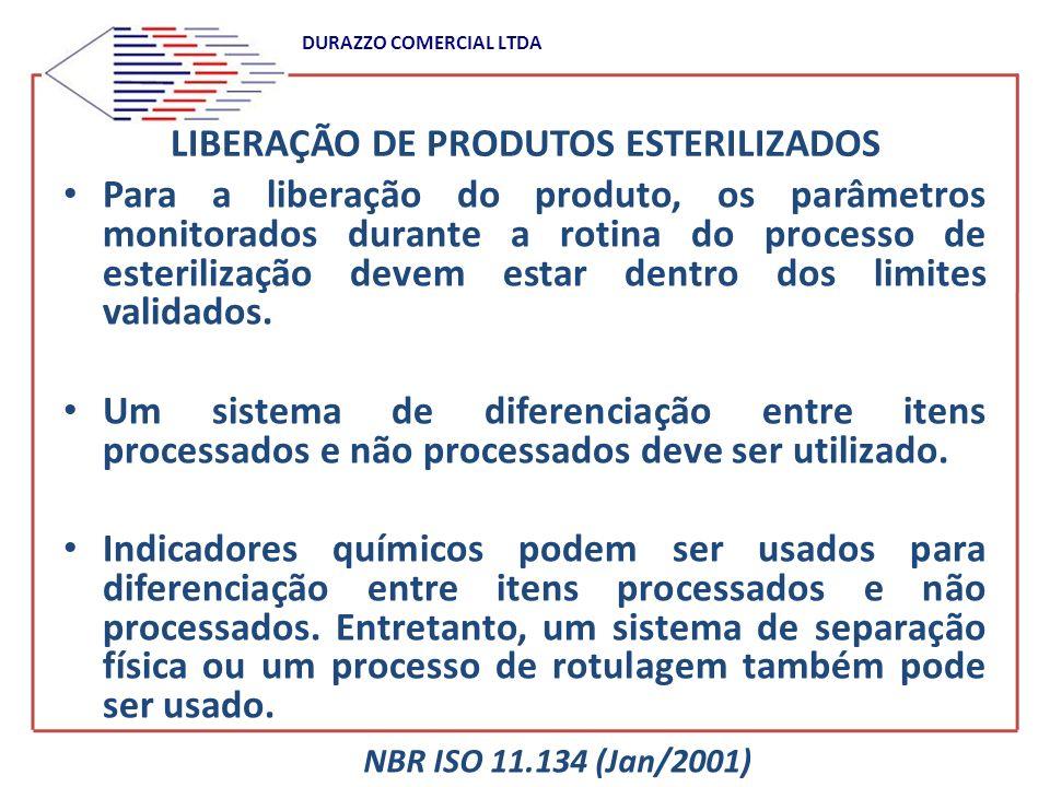 LIBERAÇÃO DE PRODUTOS ESTERILIZADOS
