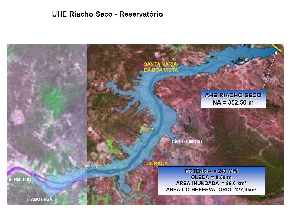 UHE Riacho Seco - Reservatório