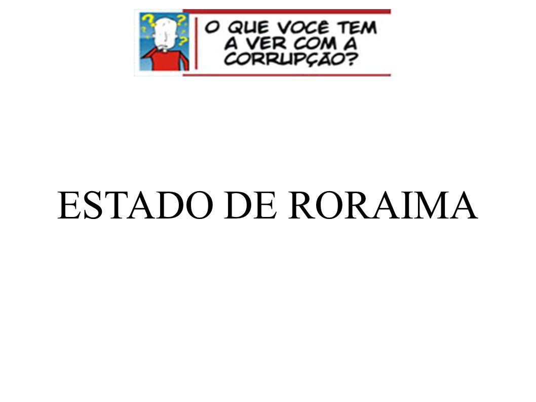 ESTADO DE RORAIMA