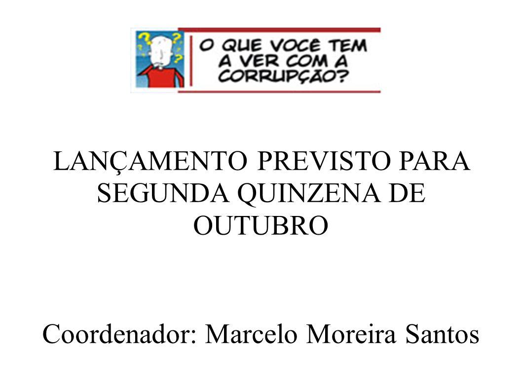 LANÇAMENTO PREVISTO PARA SEGUNDA QUINZENA DE OUTUBRO