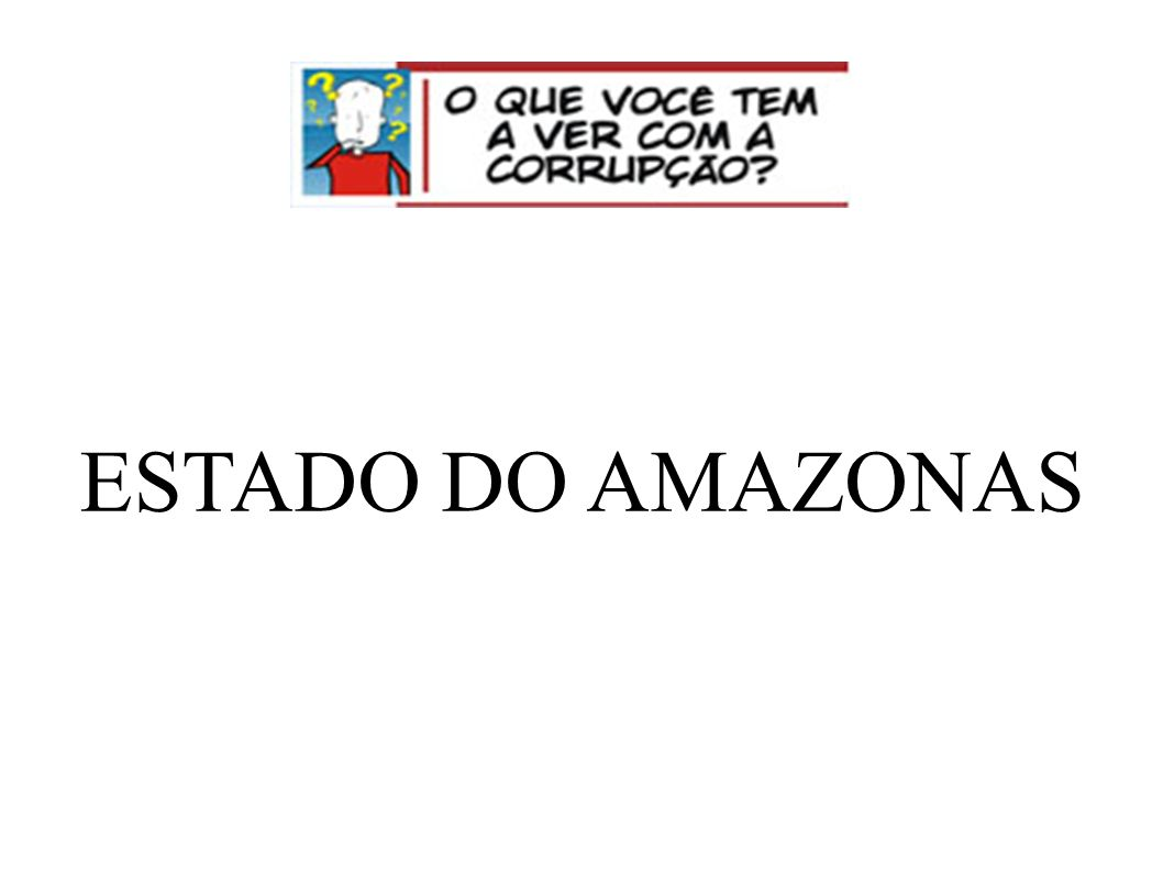 ESTADO DO AMAZONAS