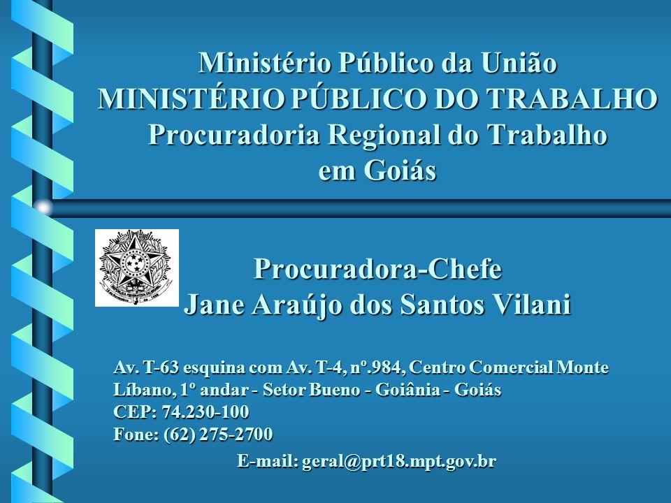 E-mail: geral@prt18.mpt.gov.br