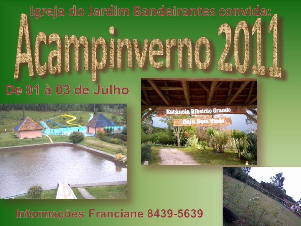 Igreja do Jardim Bandeirantes convida: