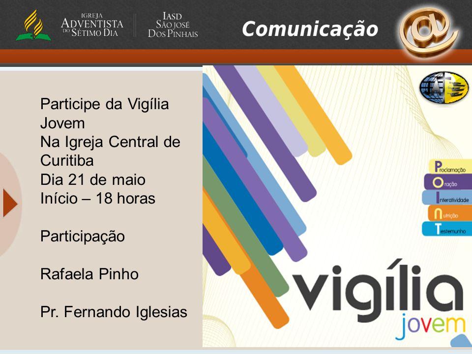 Participe da Vigília Jovem