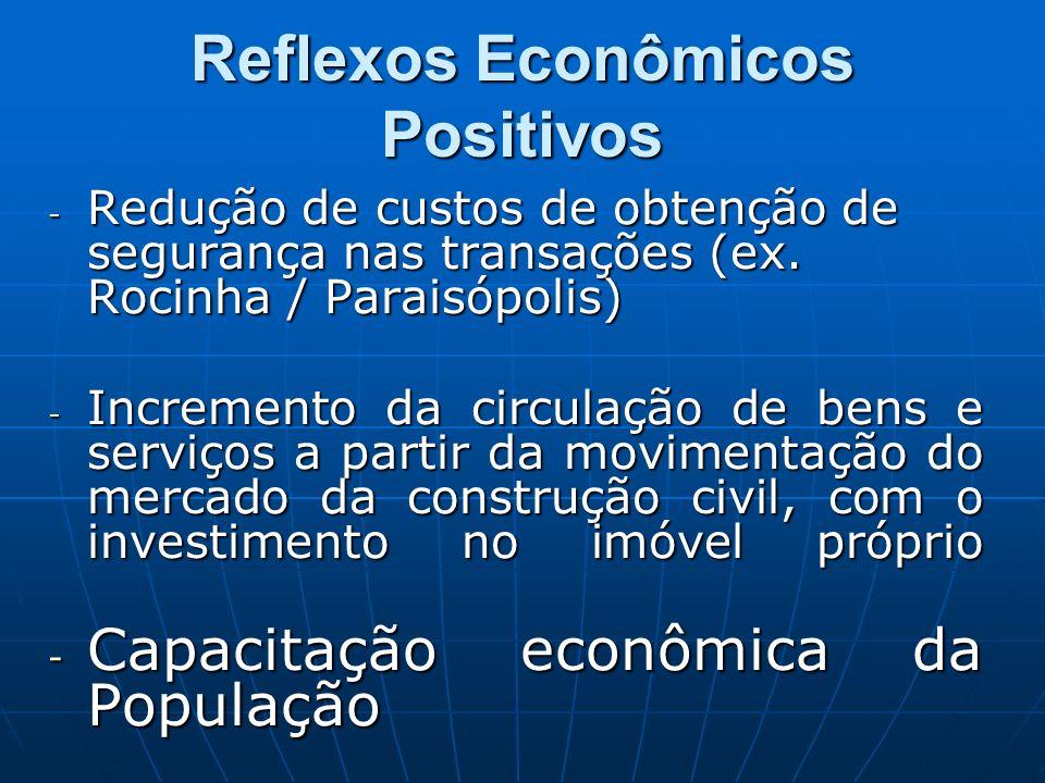 Reflexos Econômicos Positivos