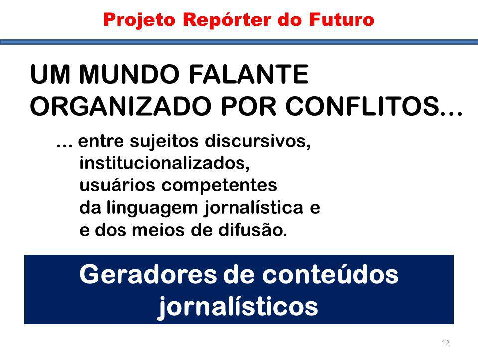 Geradores de conteúdos jornalísticos